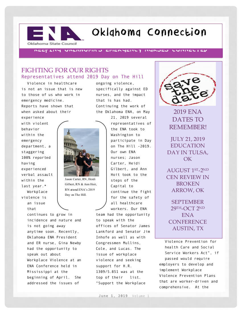 ENA-Newsletter
